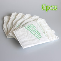 6pcs Vacuum Cleaner Bag Dust Bag For Vorwerk VK135 VK136 FP135 FP136 Kobold135 Kobold136 VK369