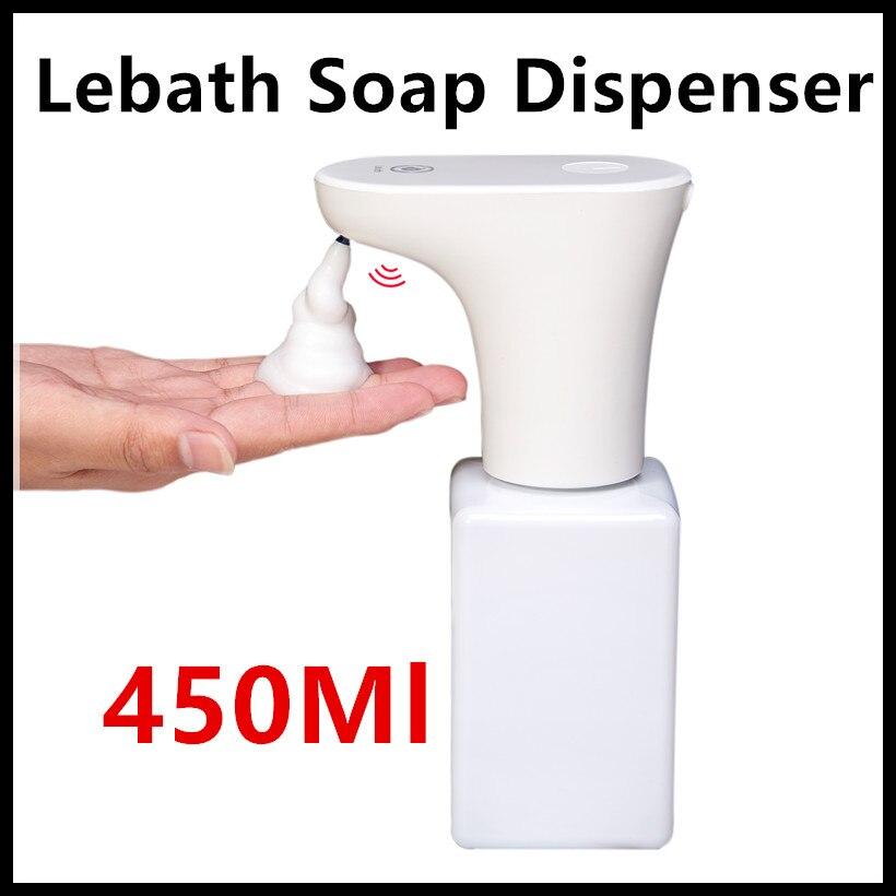 Xiaomi Eco-sistema de marca Lebath Auto inducción de espuma de jabón de mano de dispensador de lavadora Builting de carga de la batería 450 mL capacidad PK miniJ