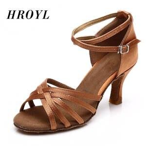 Dancing-Shoes Heeled-Salsa Ballroom/latin Ladies Girls Women's Professional for 5cm/7cm