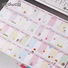 1PC Weekly Plan Office Stationery Sticky Notes Korea Style Sticker Post It Bookmark Point It Marker Memo Sticker Papers