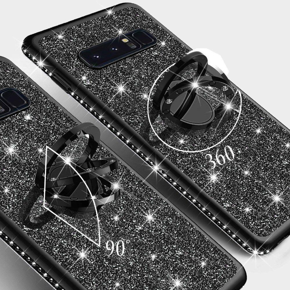 Diamond Case for Samsung Galaxy S10 Plus S10E S7 Edge S8 S9 Note 9 8 Cover For Samsung A6 A8 Plus A7 J7 2018 Glitter Bumper Case (5)