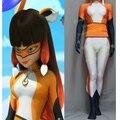 Hero Catcher High Quality Custom Made Miraculous Ladybug Cosplay Costume Fox Volpina Cosplay Costume Volpina Suit #2