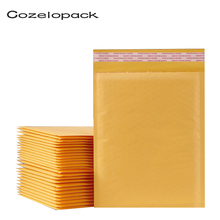 50PCS/15 sizes Kraft Paper Bubble Envelopes Paper Packaging Bags Padded Mailers Shipping bubble Envelope Courier Storage Bags