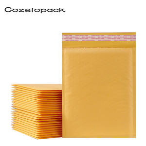 50PCS Kraft Paper Bubble Envelopes 15 sizes avaliable Bags Padded Mailers Shipping Envelope With Bubble Mailing Bag