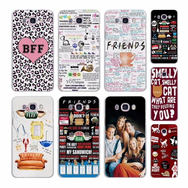 US $2 99 |FRIENDS TV SHOW LOGO Best Friends Forever pattern hard White Case  cover for Samsung Galaxy J510 J710 J5 J7 J3 2016 J1 J2 Prime J-in