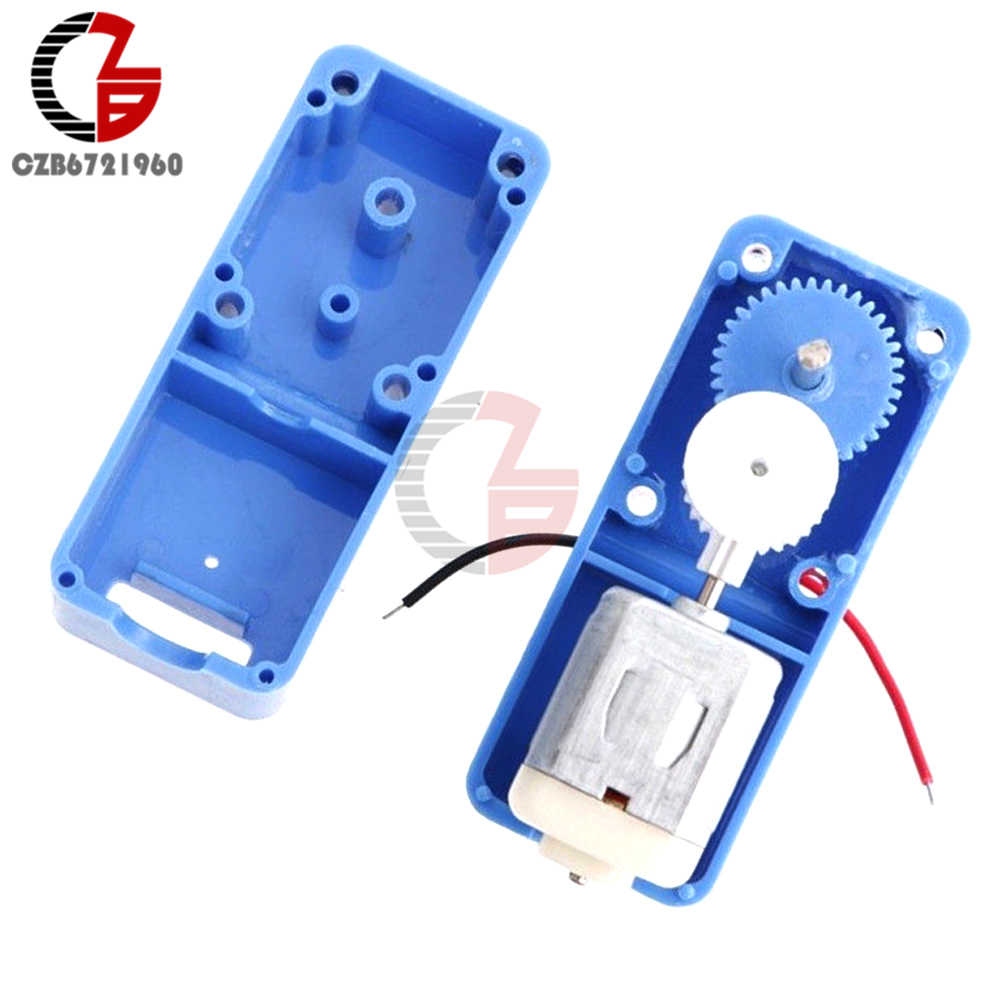 DC1.5-6V 1: 94 Mini Output Biaxiale Reductie Box Gear Motor Voor Robot Speelgoed DIY
