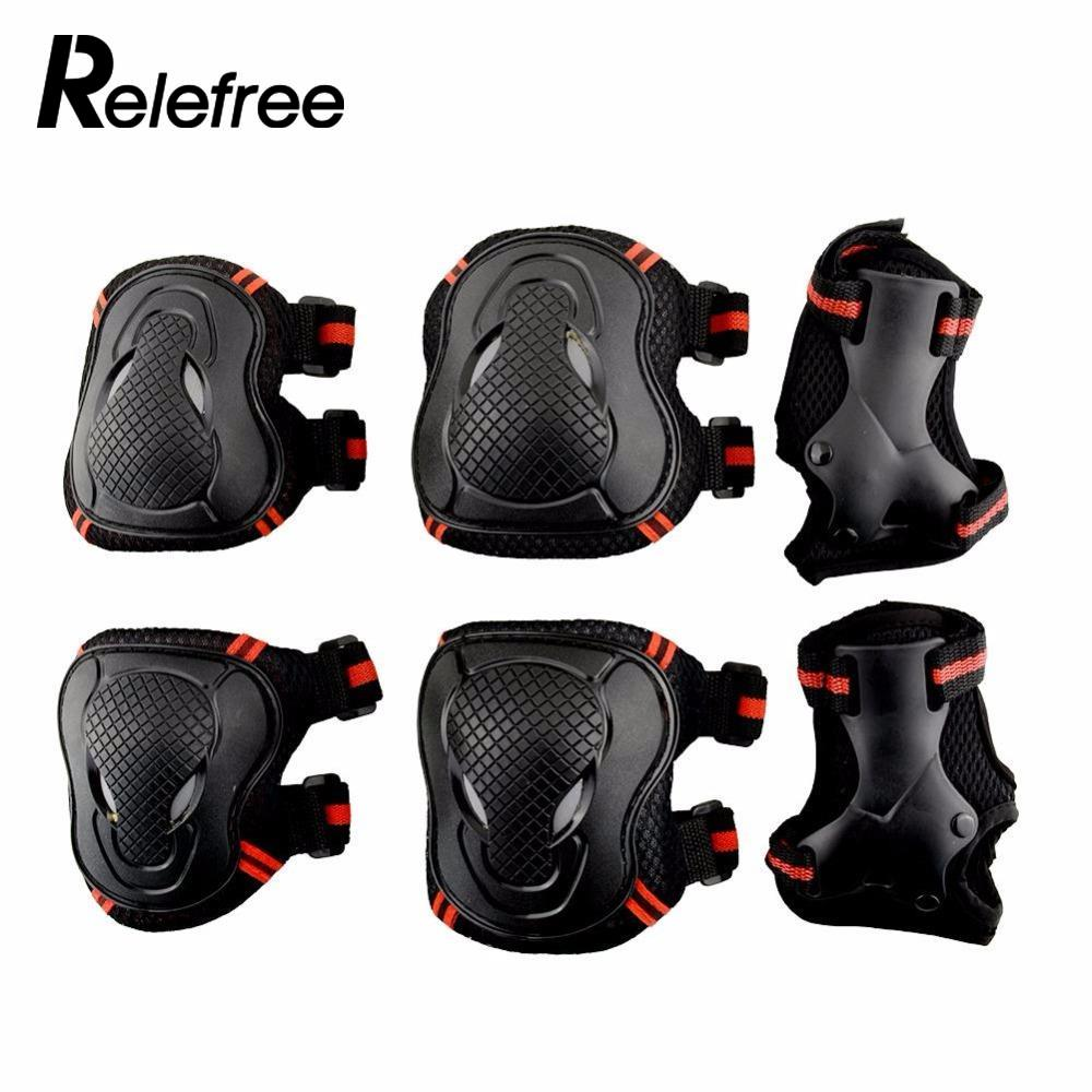Office & School Supplies Relefree 6pcs/set Adult Roller Skates Wrist Knee Elbow Protector Set Kneepads Protection Sports Safety Guard Discounts Sale Pens, Pencils & Writing Supplies