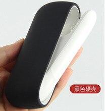 Yunkang Silicone Saco Adesivo de Proteção Caso Shell Para IQOS 3 Vape Cigarro e Acessórios Coloridos Casos de Cobertura de Cor Suave Vapes