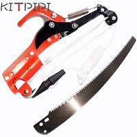 KITPIPI Outdoor High Branch Scissors Garden Tools Pruning Shears (Scissors + Saw , No Rod) PGG8913