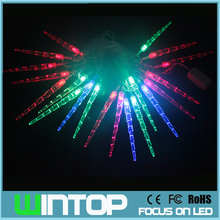 New AC110V~ 220V Small Icicles Flashing Led String Lights Christmas Garlands 4m/20leds for Holiday/Party/Wedding Decoration