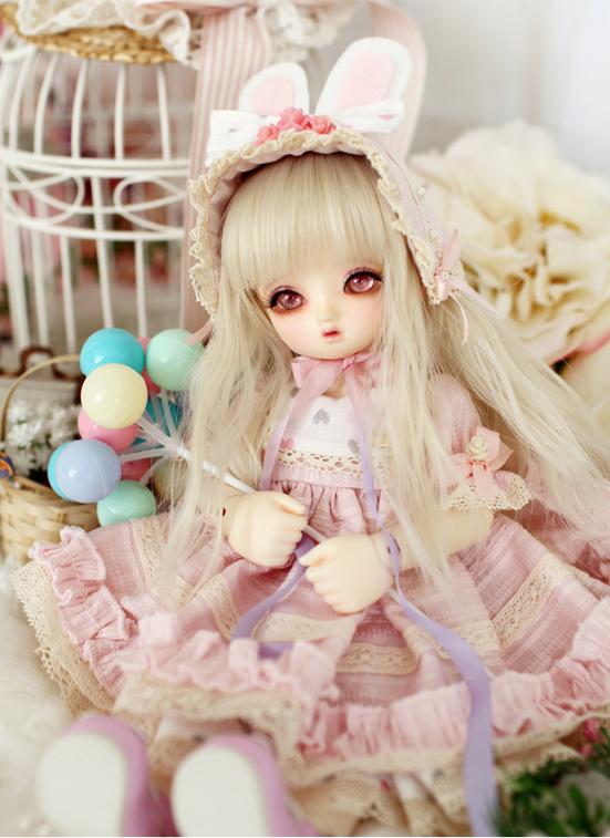1/6 scale BJD lovely kid sweet baby cute Blossom Lucile Resin figure doll DIY Model Toys.Not included Clothes,shoes,wig