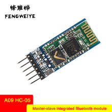 Panel Bluetooth module DIY A09 HC-05 master and slave integrated Bluetooth module Serial port transparent transmission