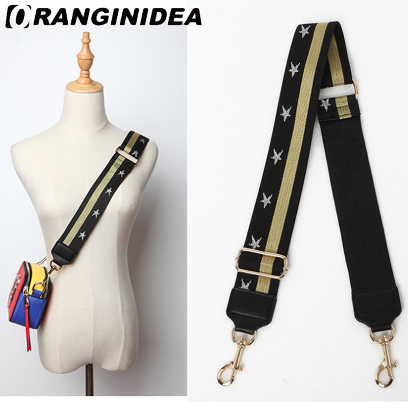 Strap U Shoulder Strap For Bags Canvas Weave Wide Strap Bag Fashion Handbag Crossbody Bag Straps Replacement Belt Accessories