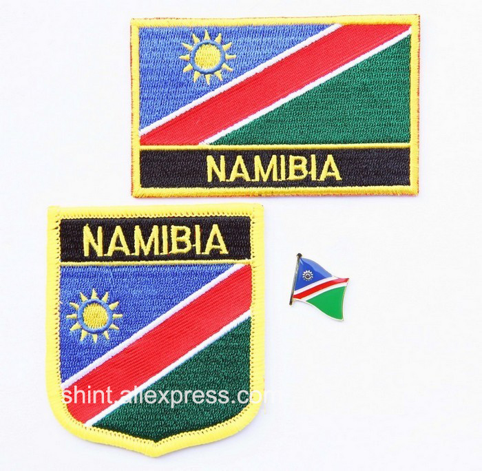 Namibia Country Flag Bike Motorcycle Hat Cap lapel Pin