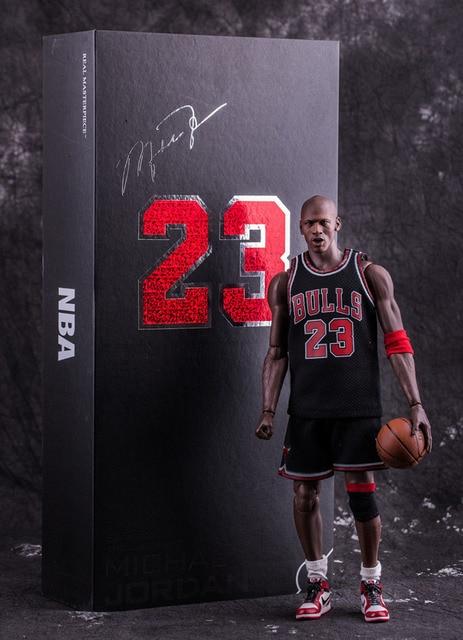 8fc1b96cef4 NBA Michael Jordan Chicago BULLS 23 Action Figure Toy PVC 1:6 Collection  Model Dolls