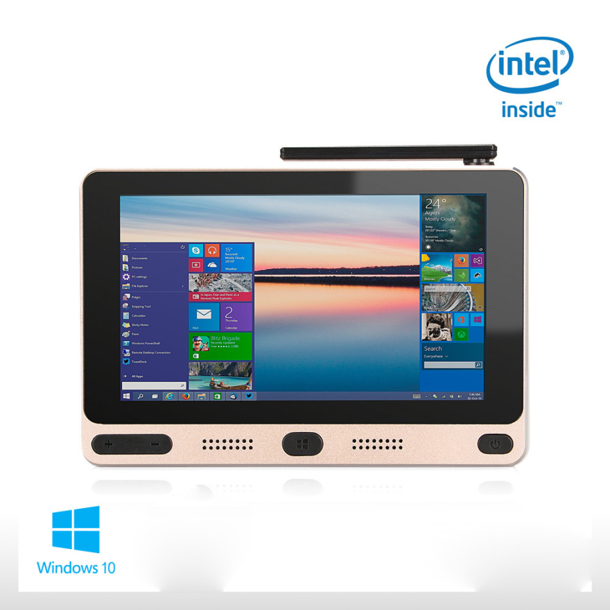 "Pocket PC Windows 10 Home Intel Cherry trail Z8350 5 ""Mini PC 4GB RAM 64GB ROM con USB3.0 Dual-Band WIFI Set Top TV Bluetooth"
