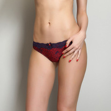 Breathable Cotton Lace Womens Seamless Cheeky Panties