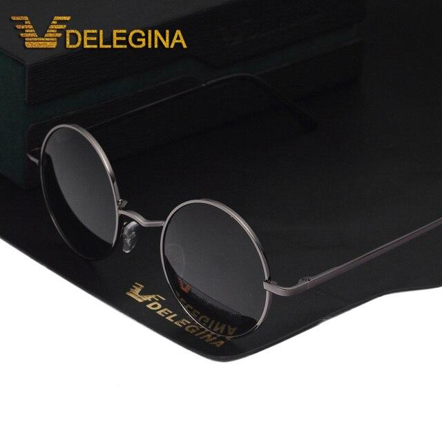 86291f0b73 Vintage Unisex Round Polarized Sunglasses Small circle lens Polar Sunglases  Driving Shades