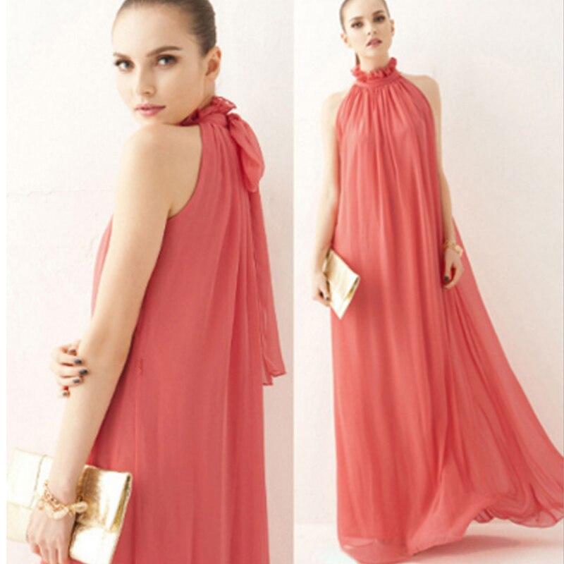 ff60b9792b6 YingYuan 2018 New summer Maternity Dresses long Chiffon Bohemian Dress  Clothes For Pregnant Women Maternidade Pregnancy Clothing