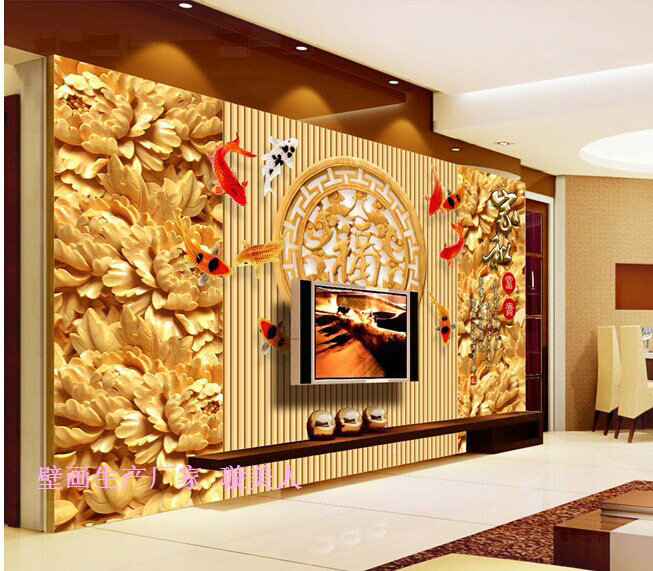 luxury wallpaper 1 Square meter wall painting adhesive contact paper ...
