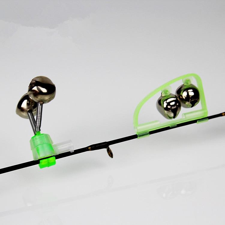 Luminous Fishing Bell Electronic Lamp Moon Shape Screw On Night Fishing Bell Fish Bell Fishing Alarm