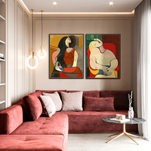 Picasso oil painting dream HandPainted Abstract Oil Painting On Canvas Famous artwrok Wall Art For Living Room