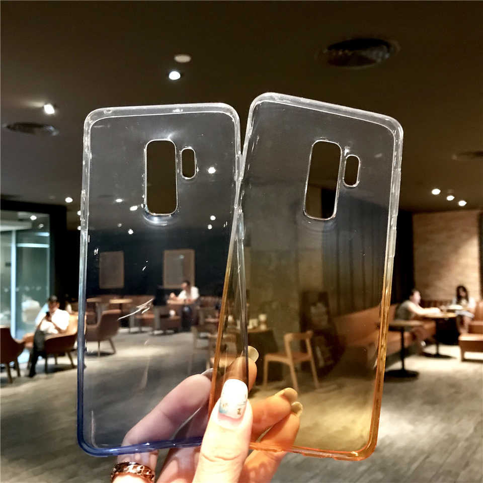 Coloful Rainbow Case For Samsung Galaxy S9 Case TPU Cover S10 S10E E S8 Plus Note 9 8 A5 A7 2017 A6 J4 J6 J2 Pro 2018 Phone Case