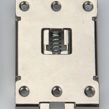 1 шт. однофазный SSR 40DA 25DA AA DD 35 мм din-рейку фиксированной твердотельные реле зажим с 2 монтажные винты