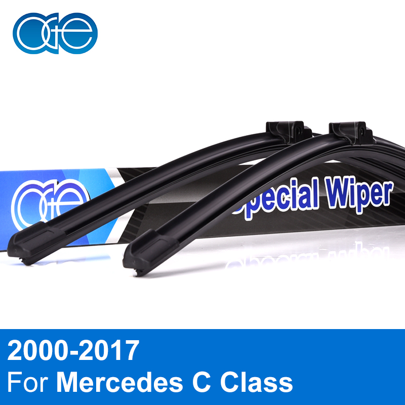 Oge Wiper Blades For Mercedes Benz C Class W203 W204 W205 2000-2017 High Quality Rubber Windshield Windscreen Car Accessories black grade a lcd display touch digitizer complete screen with frame full assembly replacement for iphone 6 6s iphone 6 6s plu