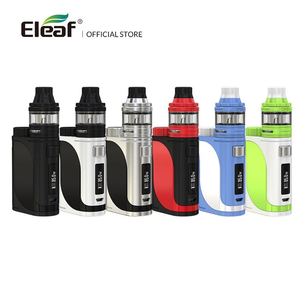 USA/Frankreich Lager Original Eleaf iStick Pico 25 kit mit ELLO Zerstäuber 1-85 W 2 ml HW1 /HW2 spulen Vape Box Modus E zigarette