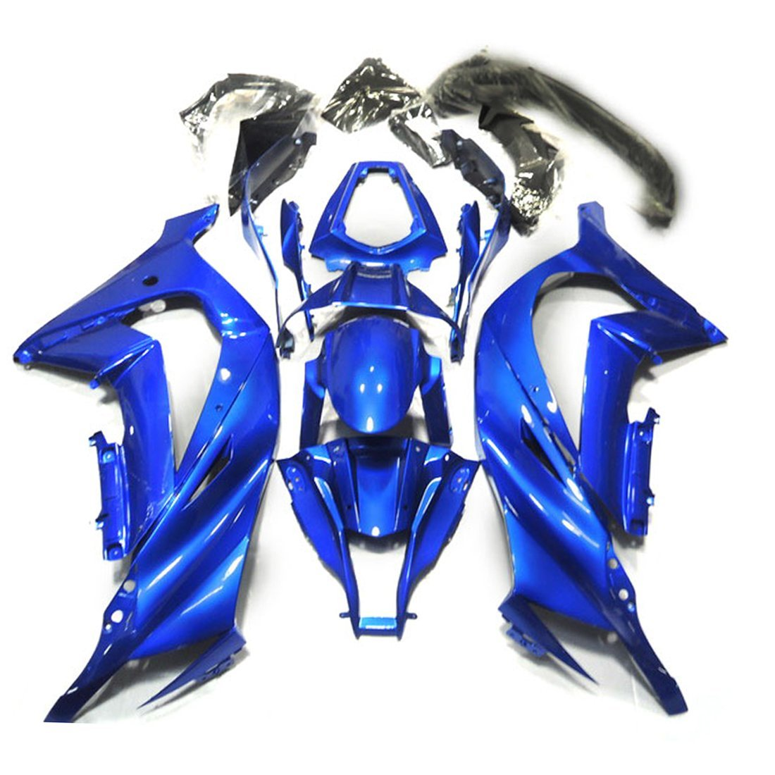 Motorcycle Bodywork Fairing Kit For Kawasaki Ninja ZX-10R ZX10R 2011 2012 2013 ZX 10R 11 12 13 Injection Fairings Blue UV Paint bigbang 2012 bigbang live concert alive tour in seoul release date 2013 01 10 kpop