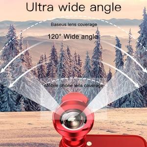Image 3 - Baseus Mobile Phone Lens Wide Angle Fish eye Fisheye 15X Macro Camera Lens For iPhone Xs Max Xr X Samsung S10 S9 Huawei P30 Pro