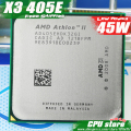 AMD Athlon II  X3 405E CPU Processor Quad-CORE (2.3Ghz/ L2 2M /45W / 2000GHz) Socket am3 am2+ free shipping 938 pin sell X3 400e