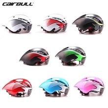 ФОТО CAIRBULL Cool Bike Helmets  Adults Men Cycle Mountain Biking Helmets Sale With Goggles TT road bike helmets Pink Ladies