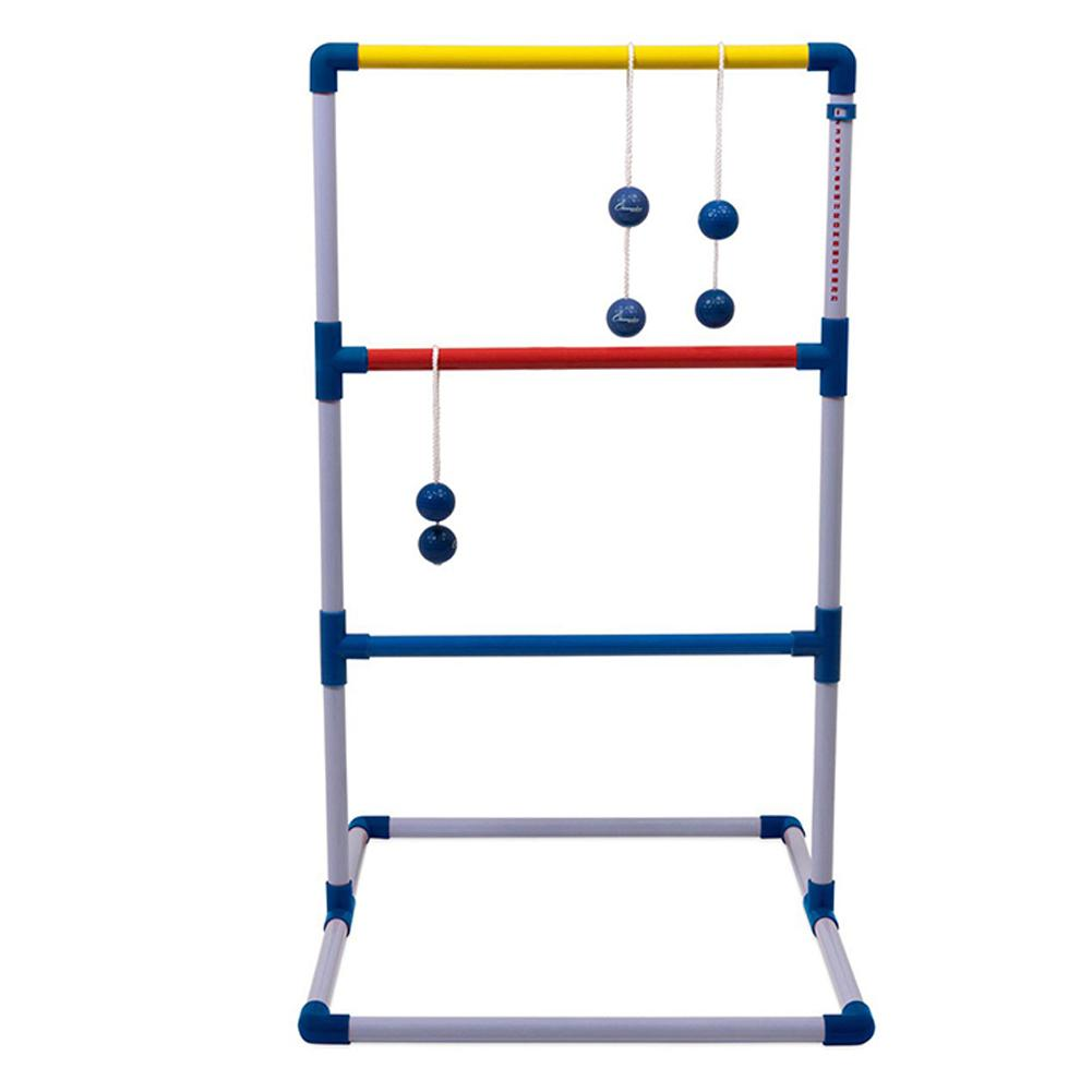 Ladder Ball Game Set  Golf Toss Game Backyard Toys Outdoor Games For Adults And Kids