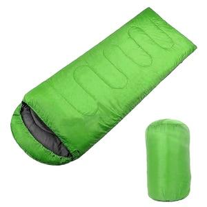 Image 3 - Pojedyncze dorosłych Camping wodoodporny garnitur przypadku kopertowy śpiwór