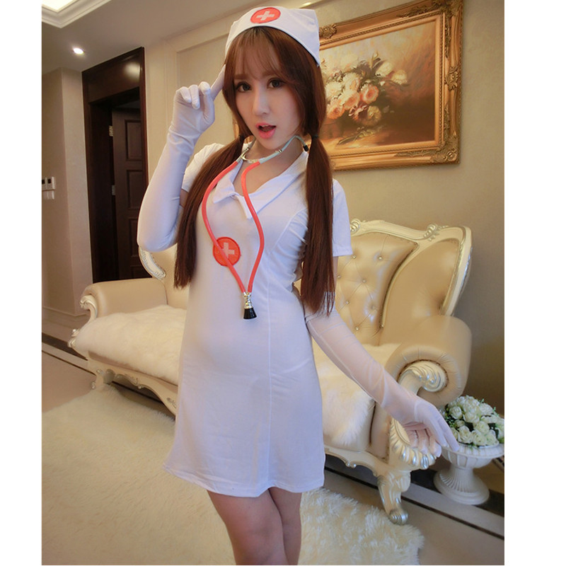 Hot Lady Cosplay Nruse Uniforms Sexy Costumes Exotic Apparel Sexy Nurse Costumes