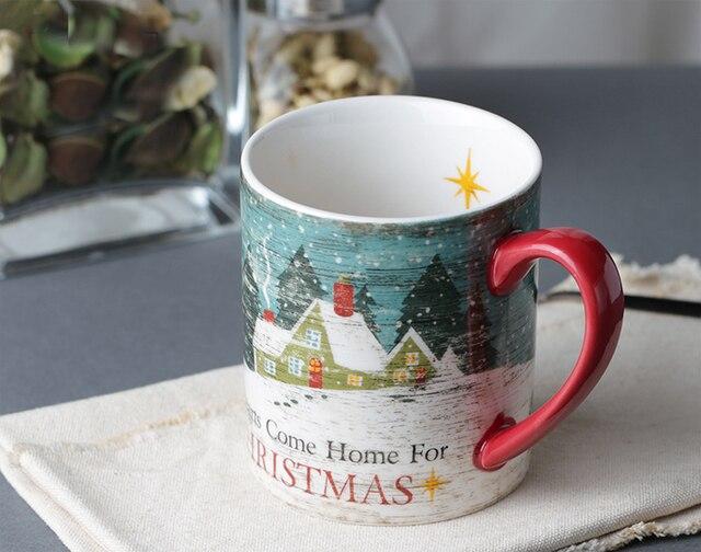 Porzellan Weihnachten.Us 32 0 400 Ml Keramik Milch Becher Weihnachten Herzen Handzeichnung Porzellan Kaffeetasse Fur Weihnachtsgeschenk In 400 Ml Keramik Milch Becher