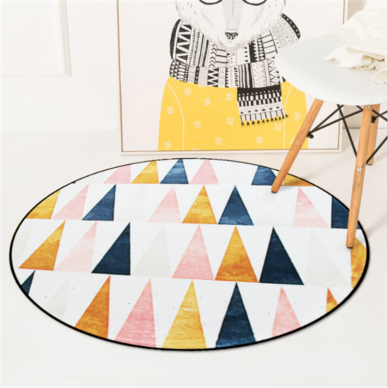 AOVOLL Arctic Scenery Round Carpet Rugs And Carpets For Home Living Room Bedroom Rugs Carpet Kids Room Floor Mats Computer Chair