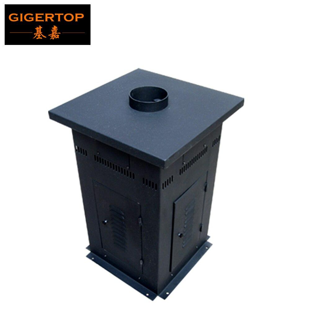 Gigertop Rectangle Vertical boîtier étanche DMX feu Machine couleur flamme Jet 1 m-3 m DMX512 4 canaux contrôle grande taille flamme Jet