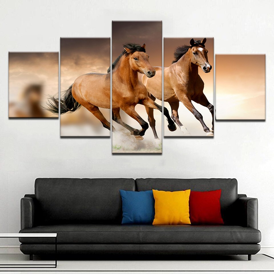 Wallpaper Hd Running Horse For Vastu High Quality Wall Posters 5