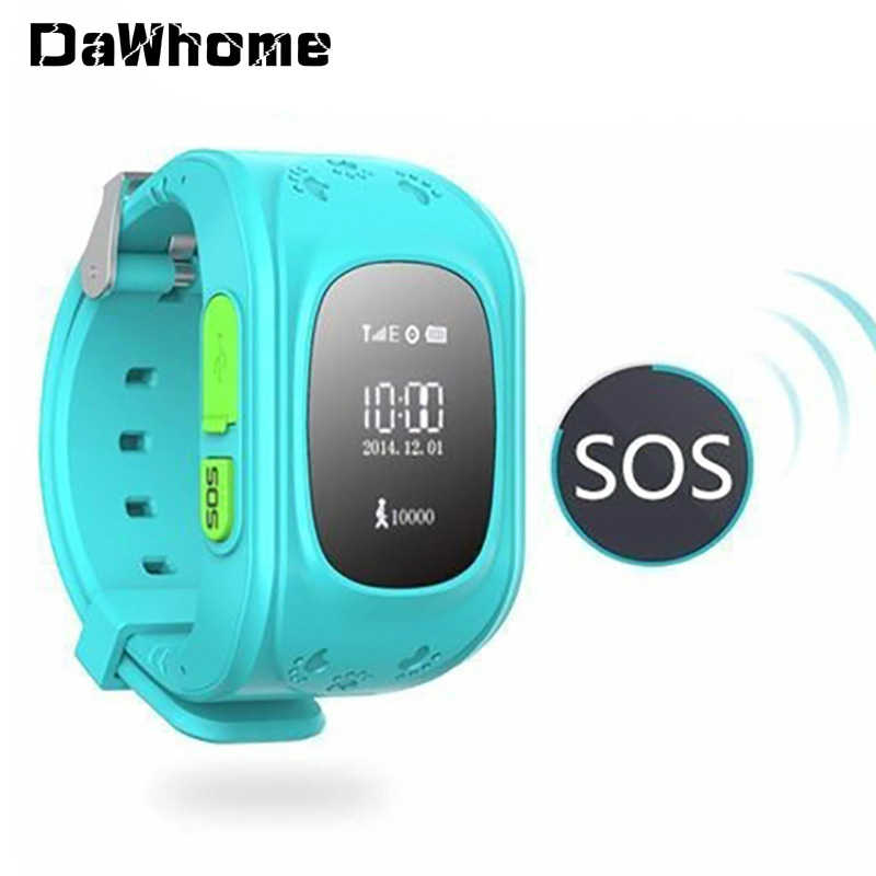 GPS/LBS Q50 SOS Kids Multilingual Station WristWatch Boys CHild Outdoor Intelligent Location Telephone Watch for Children