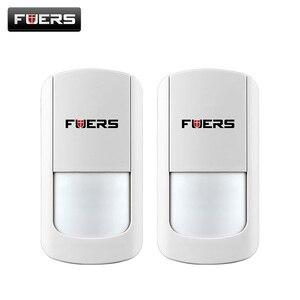 Image 1 - 2 ピース/ロット 433 315MHZ のワイヤレス PIR センサーワイヤレス motion センサーワイヤレス Wifi ホームセキュリティ警報システム G90B バッテリー