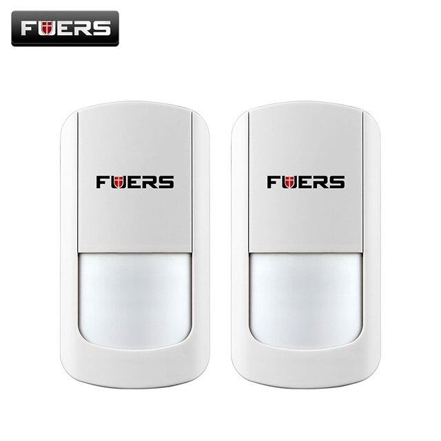 2 ピース/ロット 433 315MHZ のワイヤレス PIR センサーワイヤレス motion センサーワイヤレス Wifi ホームセキュリティ警報システム G90B バッテリー