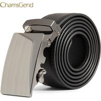 Men Leather Automatic Buckle Belts Fashion Waist Strap Belt Waistband   B# 2017 hot sell  drop shipping