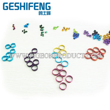 200pc free shipping Aluminium 6mm ring  with words
