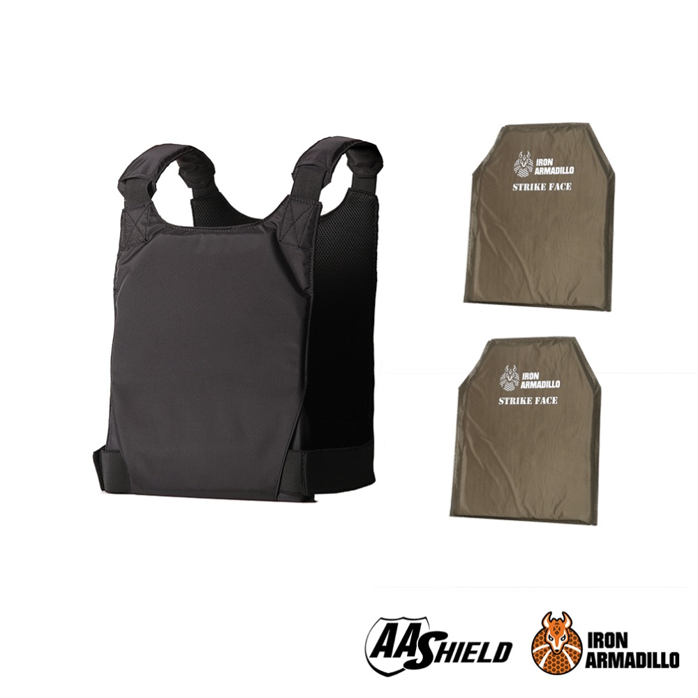 AA Shield Plate Holder Soft Armor Panel Covert Carrier Body Armor Bullet Proof Concealed Vest UHMWPE