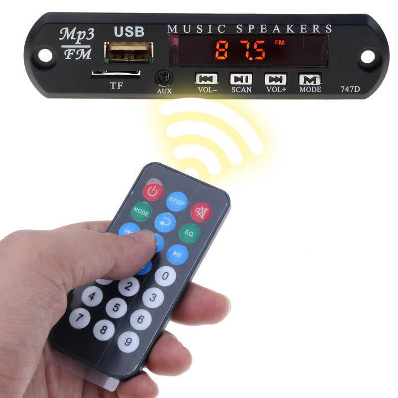 Kebidu لا بلوتوث مع البعيد MP3 فك WMA USB FM AUX TF راديو الصوت مجلس سماعة موسيقية بالجملة لمجموعة سيارة أحدث