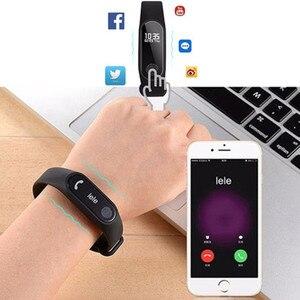 Image 3 - HORUG pulsera deportiva reloj inteligente hombres mujeres reloj inteligente para Android IOS Fitness Tracker electrónica reloj inteligente banda reloj inteligente