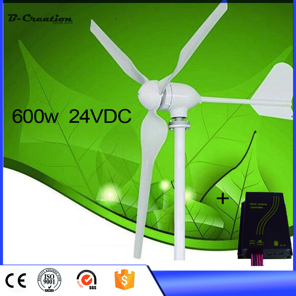 2017 Wind Power Generator Wind Turbine 600w Generator,24/48v For Dc Charge Controller Including For Homes new wind power dc motor generator dc12v 48 v and diy free shipping 1278